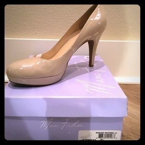 Nude heels by Marc Fisher